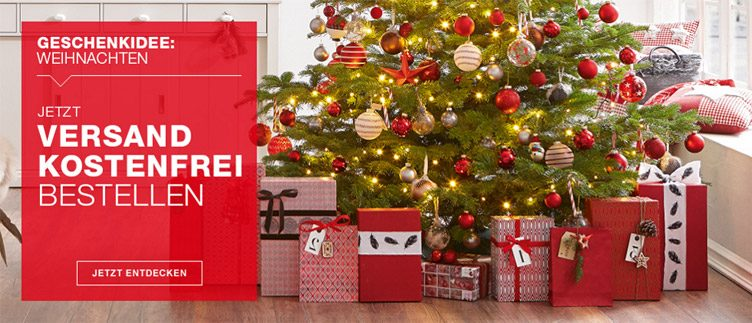 XXXL Online Geschenkidee Weihnachten