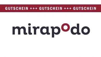mirapodo Gutscheine Oktober 2017