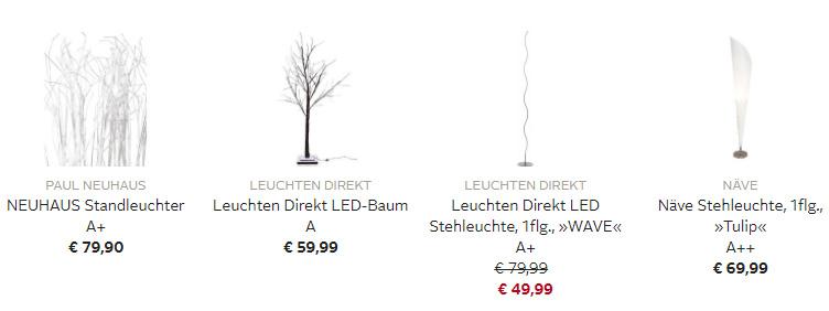 OTTO Deal des Tages - Stehlampen