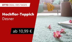 OTTO Deal des Tages Hochflor Teppich Desner
