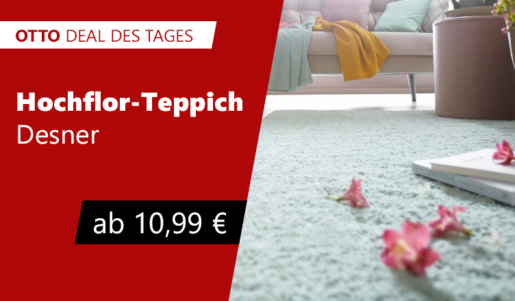 otto deal des tages hochflor teppich desner my home selection. Black Bedroom Furniture Sets. Home Design Ideas