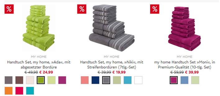 OTTO Handtuch Sets reduziert