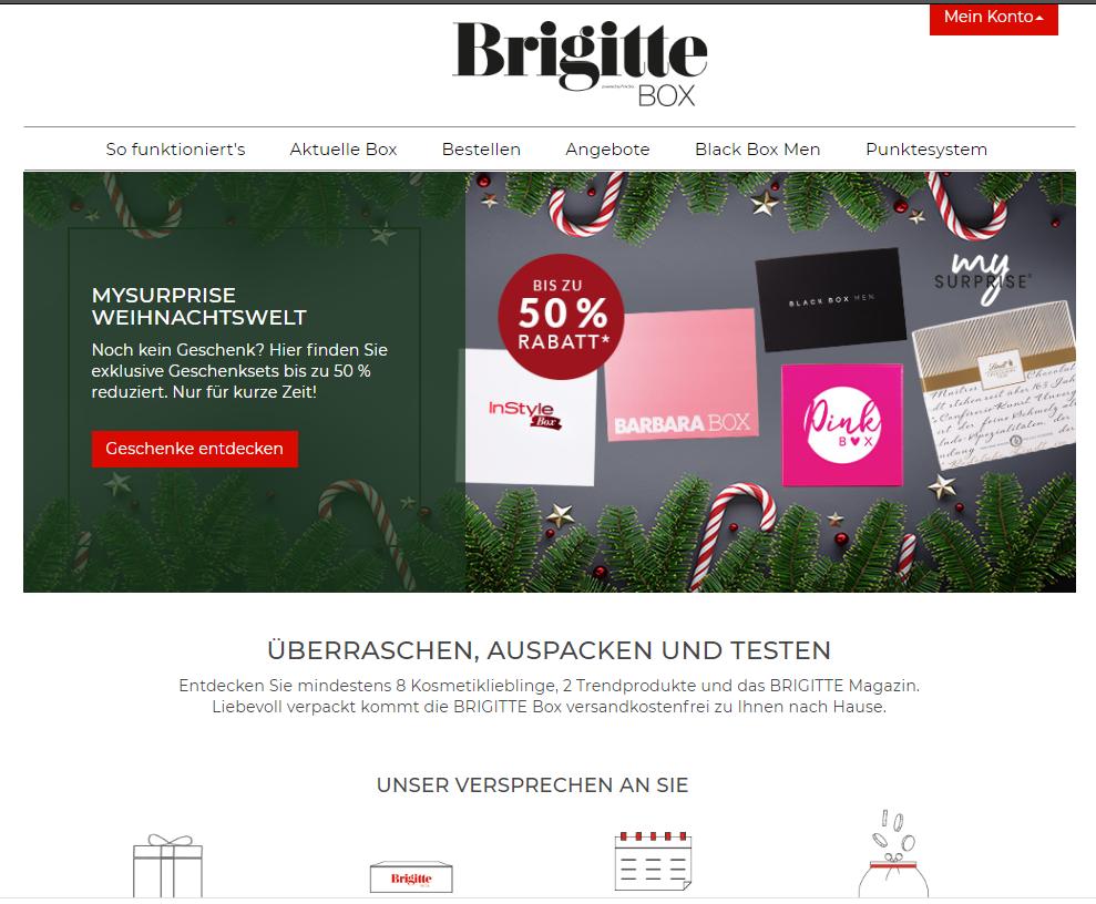Brigitte Box bestellen